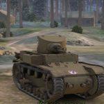 Американский редкий лёгкий танк Т1Е6