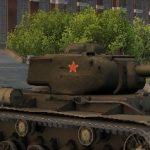 """Советский тяжелый танк  """"КВ-1С"""""""