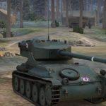 Французский легкий танк AMX 12t