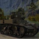 Американский лёгкий танк M3 Stuart