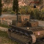 American medium tank T2 Medium Tank