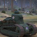 Французский лёгкий танк Renault FT