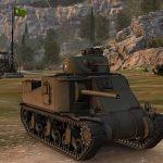 American medium tank M3 Lee