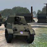 American anti-tank self-propelled gun T 56 GMC