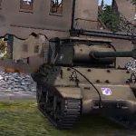 American anti-tank self-propelled gun M36 Jackson