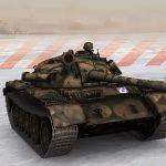Soviet medium tank T 55A