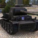 Немецкий тяжелый танк  VK 36.01 H