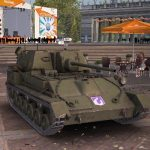 Советская противотанковая самоходка СУ-76М