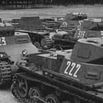 The combat use of the German light tank Pz.Kpfw. 1 in Spain and Austria.