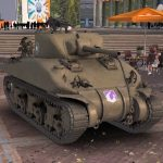 American medium tank M4A1 Sherman creation history and review of the world of tanks