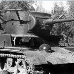 Soviet light tank T - 26 combat use in Spain and the Japanese conflict.