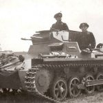 The combat use of the German light tank Pz.Kpfw. 1 in the second world war.